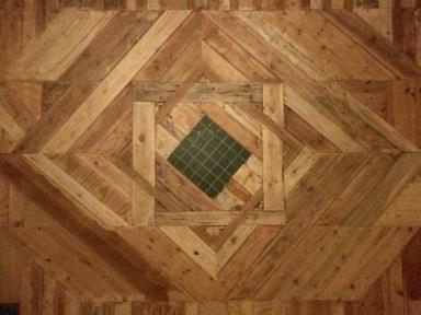 Muster / Abgeschliffener Boden / Prozess