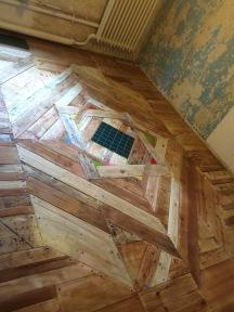 Fertiger Boden, lackiert, 3m x 5m